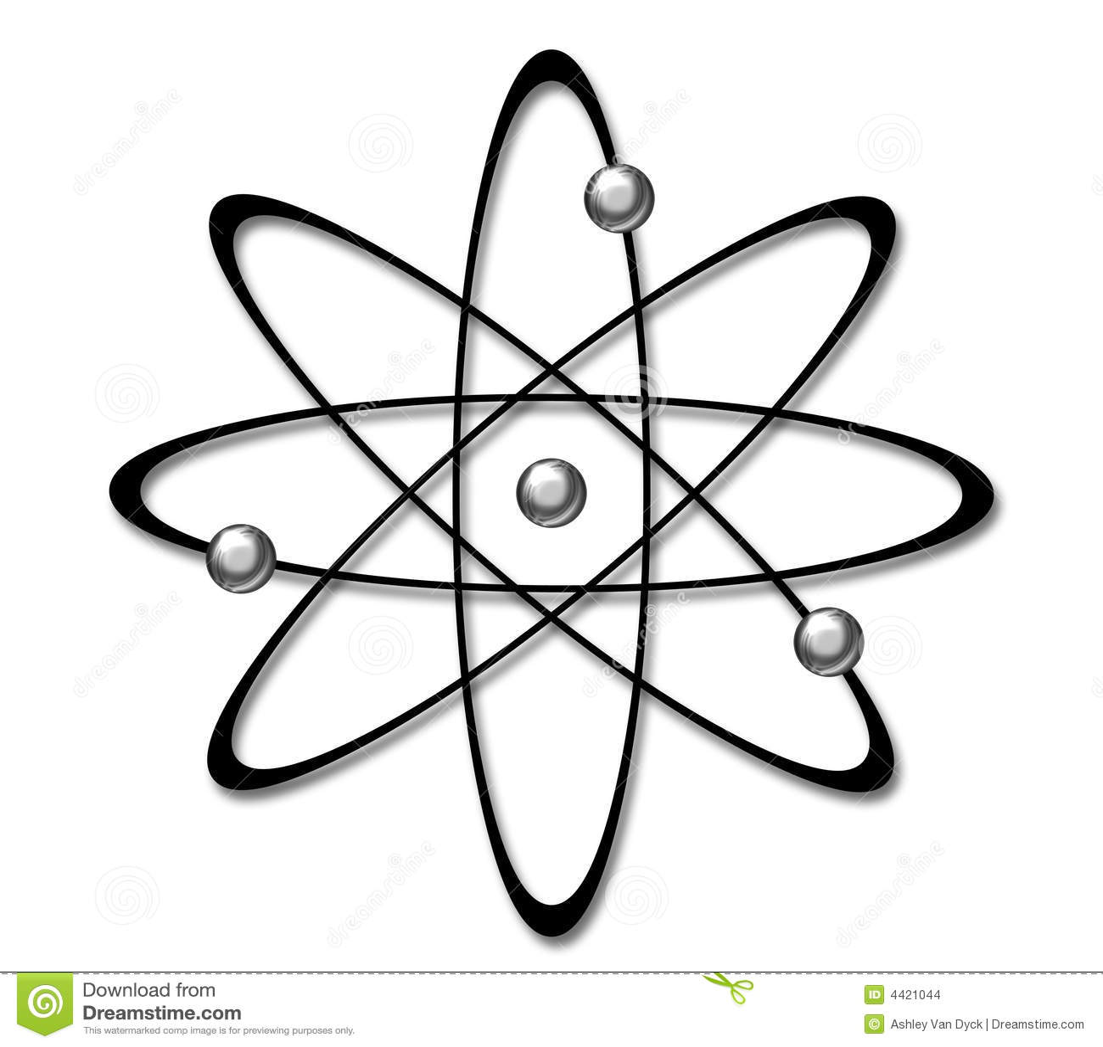 Atom Symbol Stock Illustration Illustration Of Science