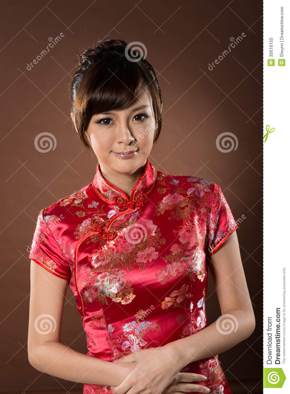 Attractive Chinese Woman Royalty Free Stock Photo Image