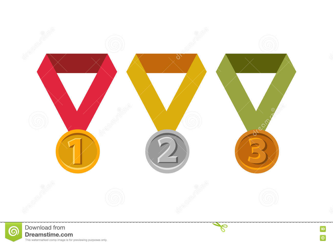 Awards For First Second Third Places Gold Silver