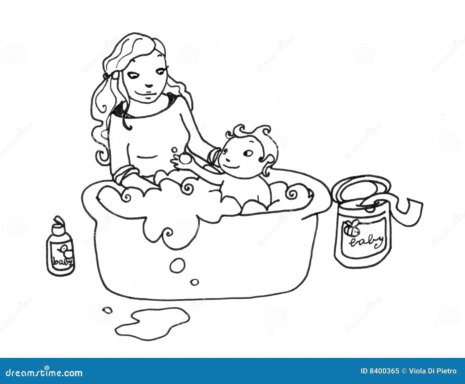 Baby Girl Tub