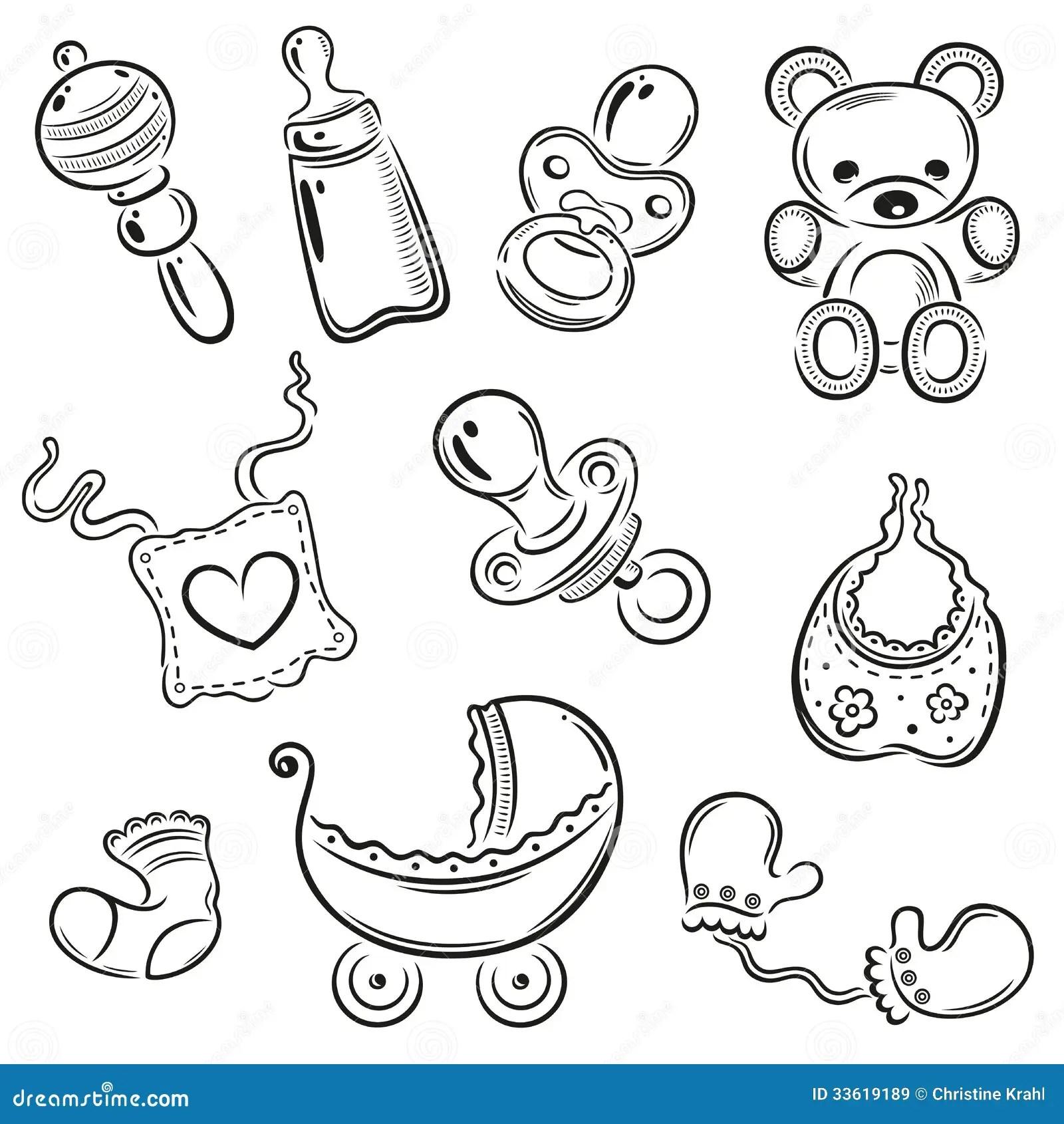 Baby Children Vector Stock Vector Illustration Of