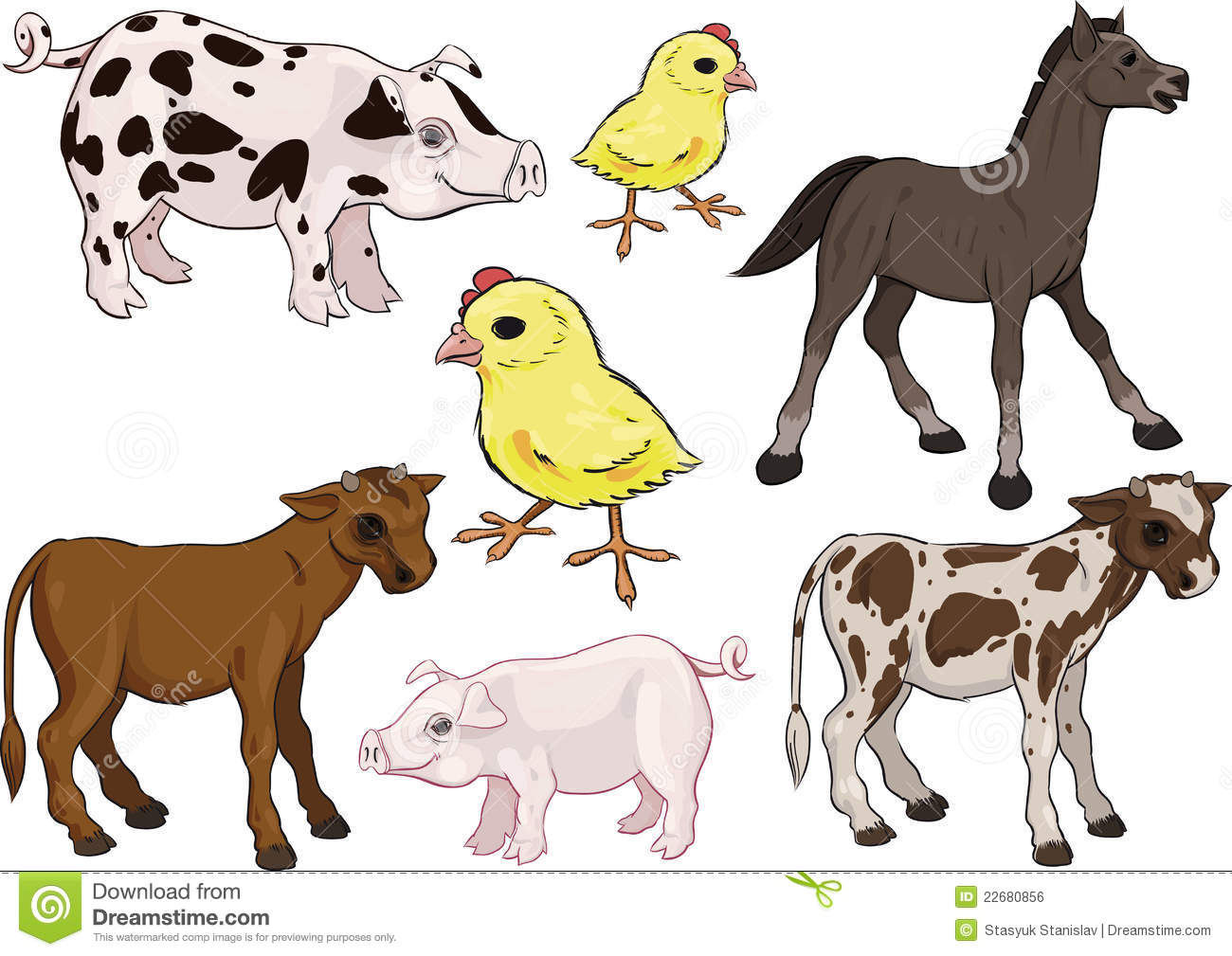 Worksheet Animals And Their Babies