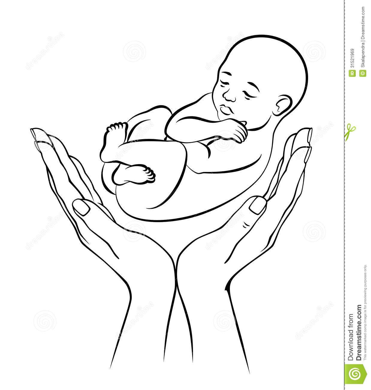 Baby Safety Royalty Free Stock Images