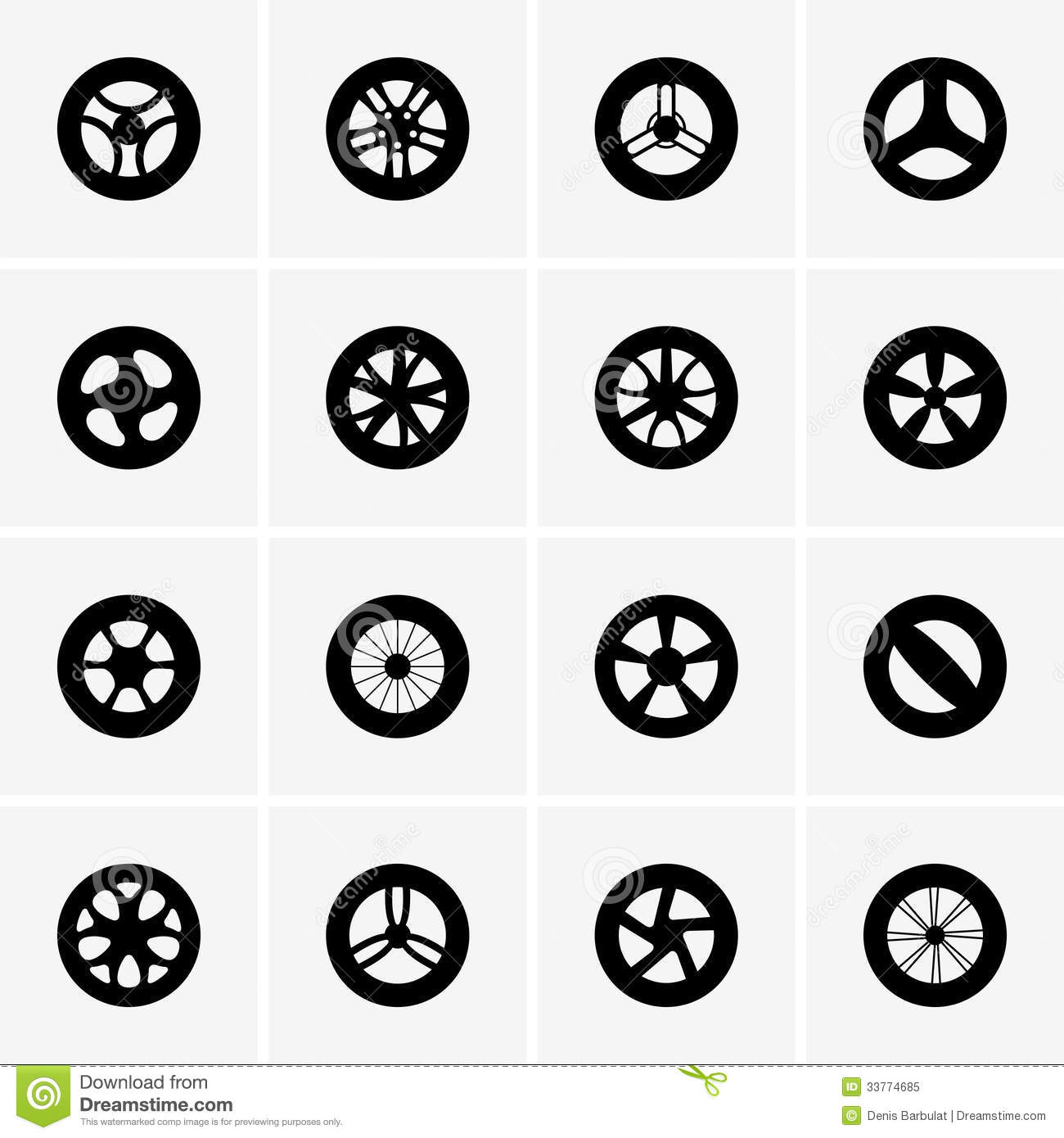 Baby Strollers Wheels Royalty Free Stock Photo
