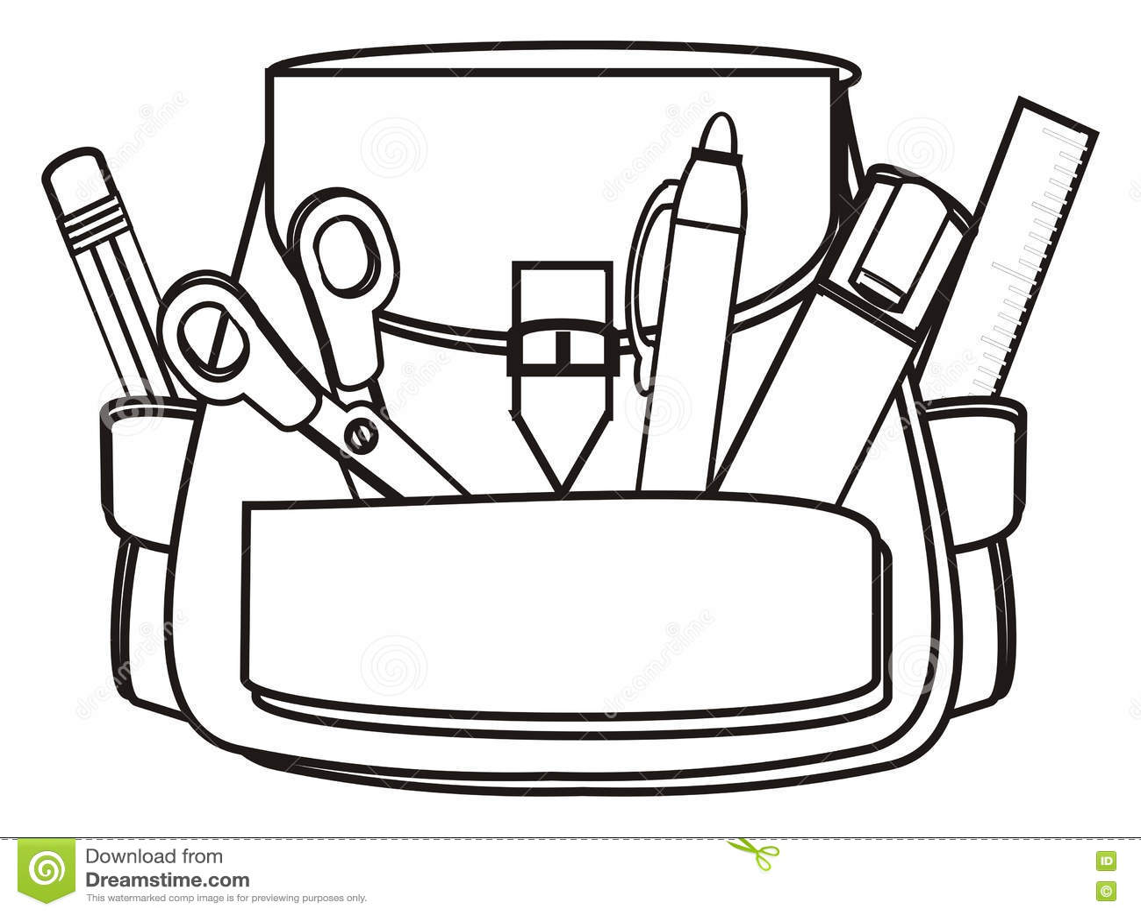 Back To School Stock Illustration Illustration Of Items