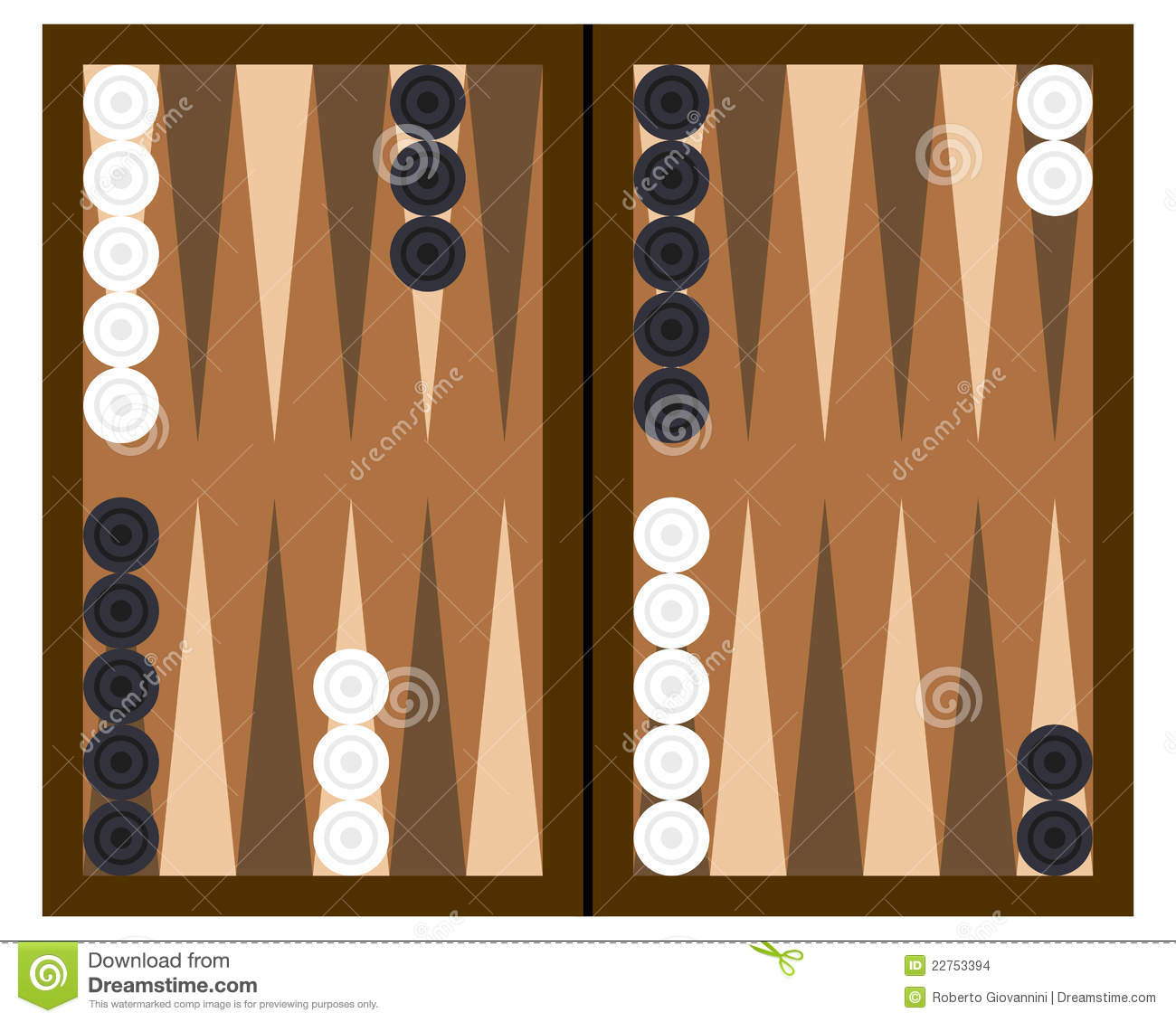 photograph about Printable Backgammon Board referred to as Backgammon Board Template. printable ludo activity board no cost