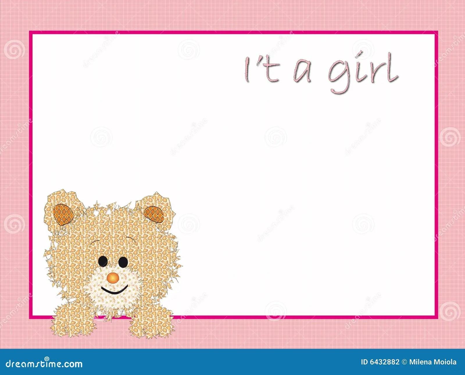 Background For New Born Female Stock Illustration Illustration Of Hold Blanket 6432882