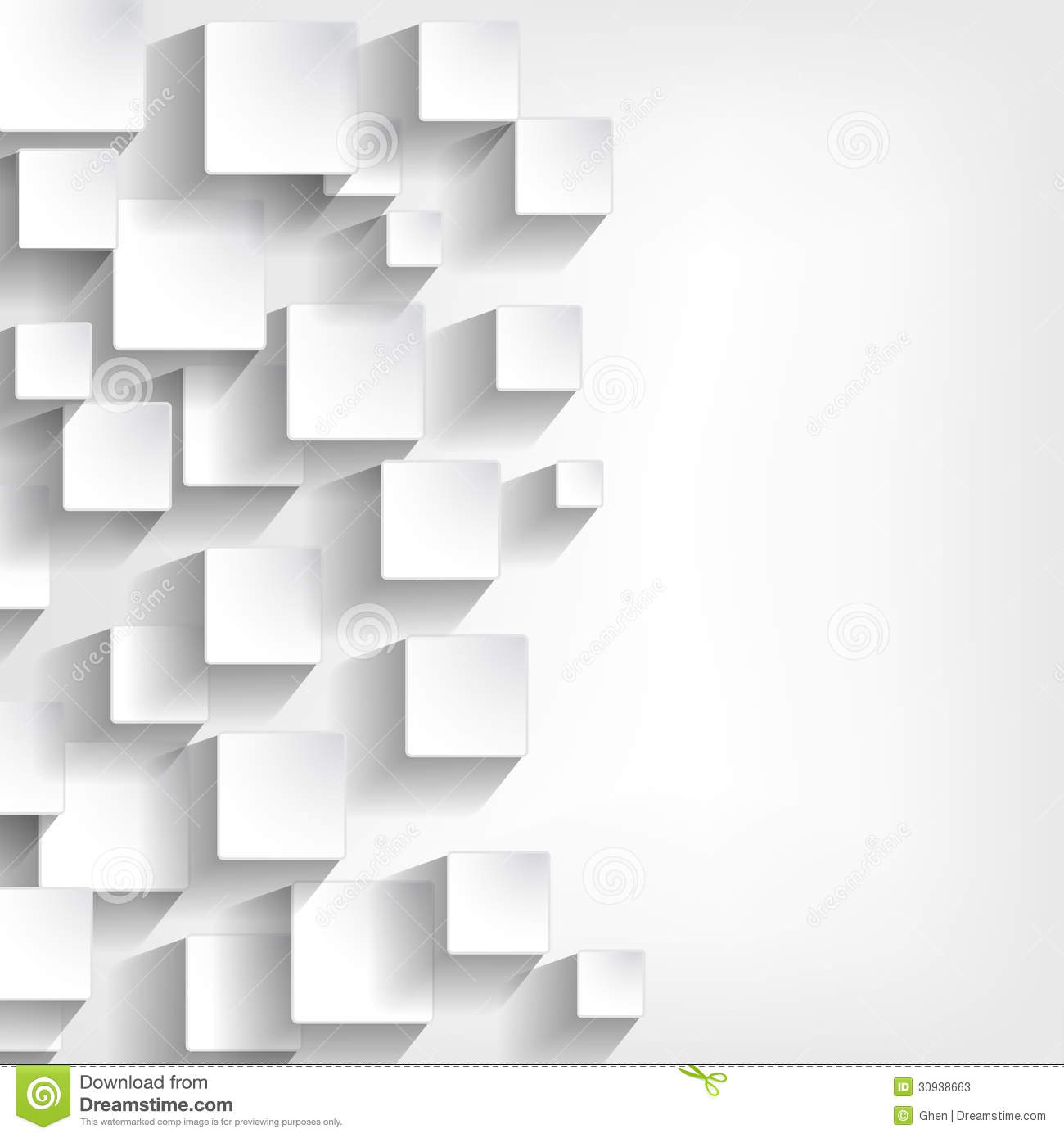 Background With White Squares Stock Vector