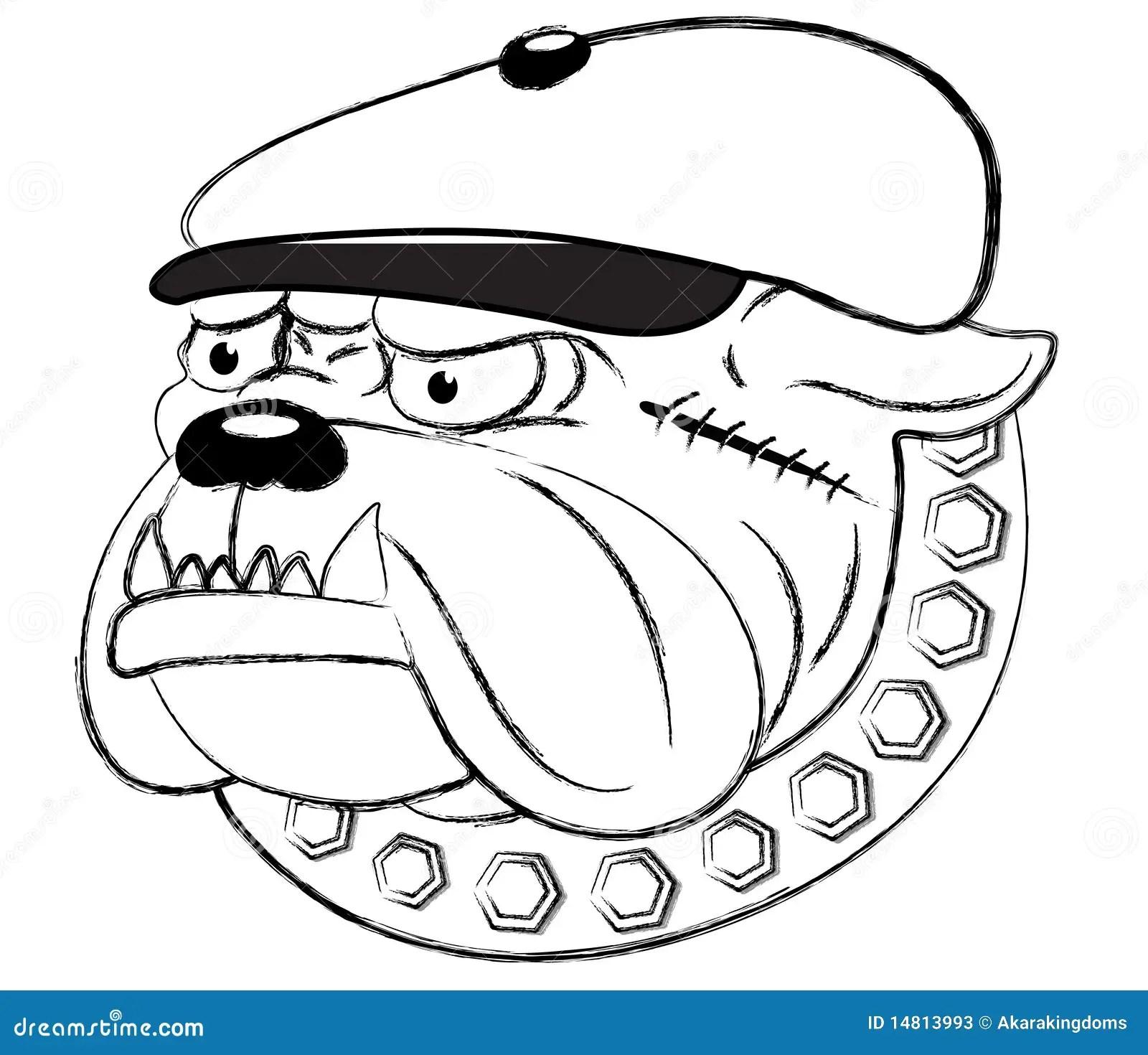 Bad Dog Stock Vector Illustration Of Graphic Icon