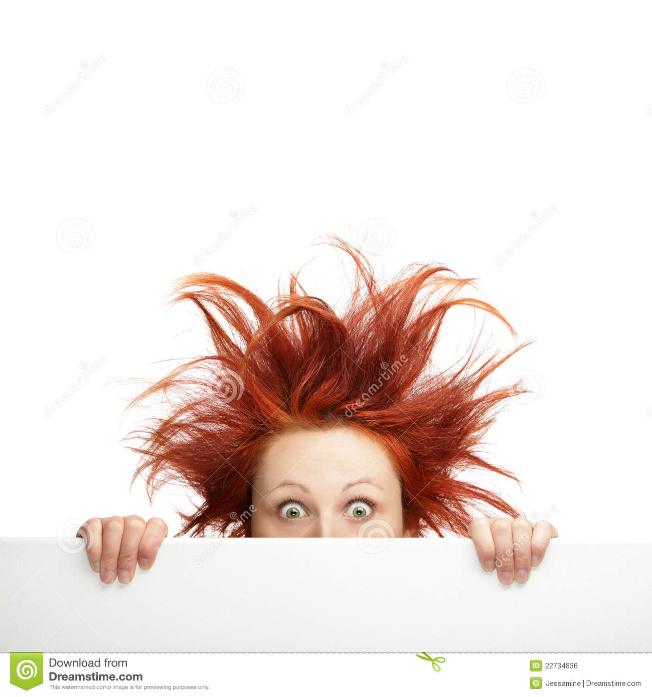 Bad Hair Day Stock Photo Image Of Female Pretty