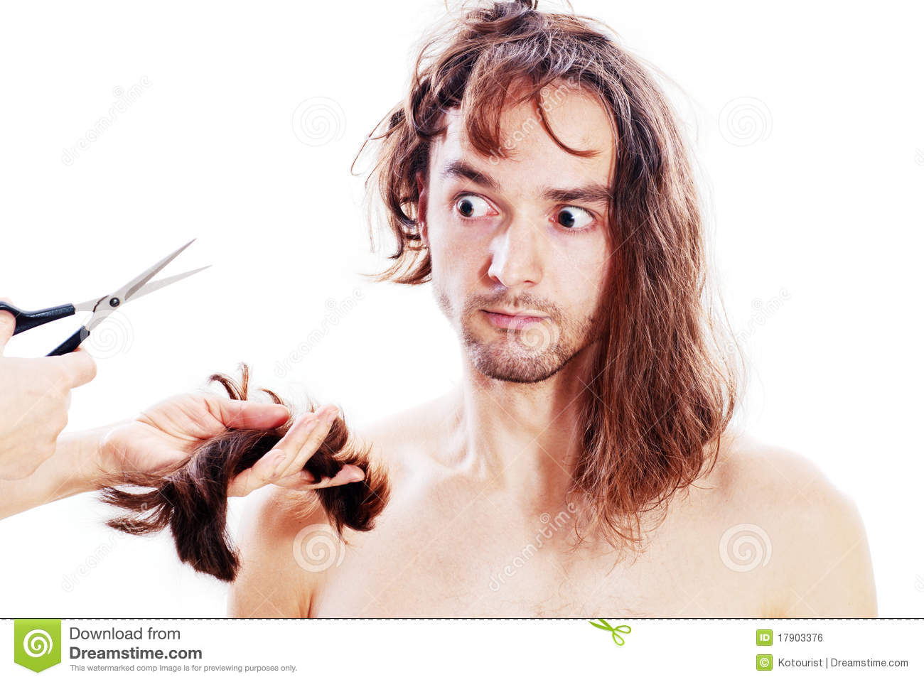 Bad Haircut Stock Photo Image Of Haircutter Human