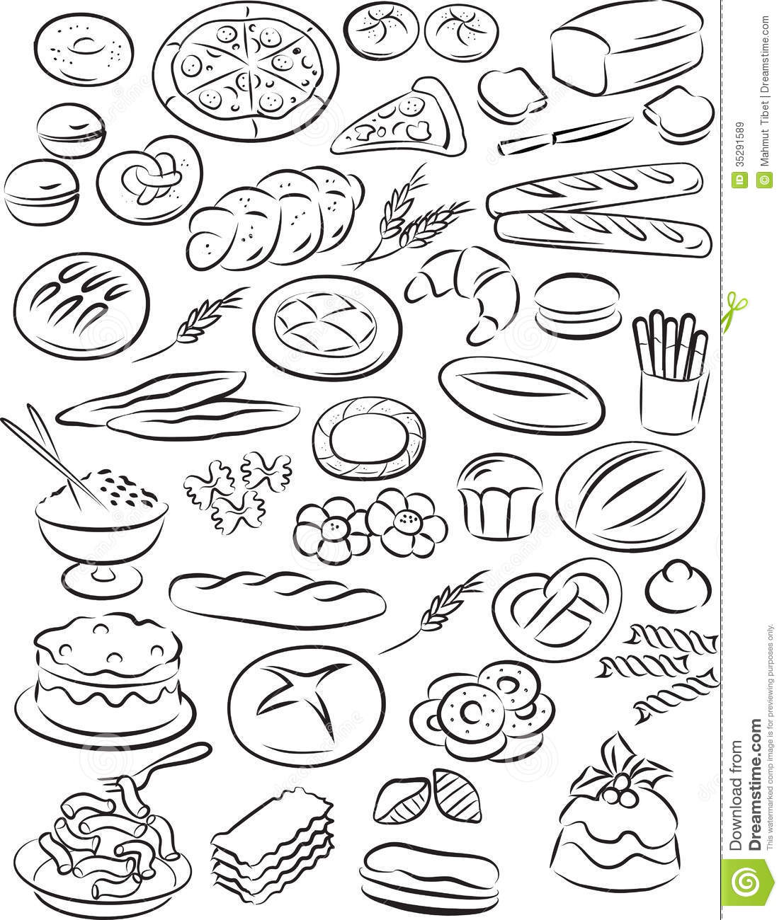 Bakery Stock Vector Illustration Of Food Bakery Loaf