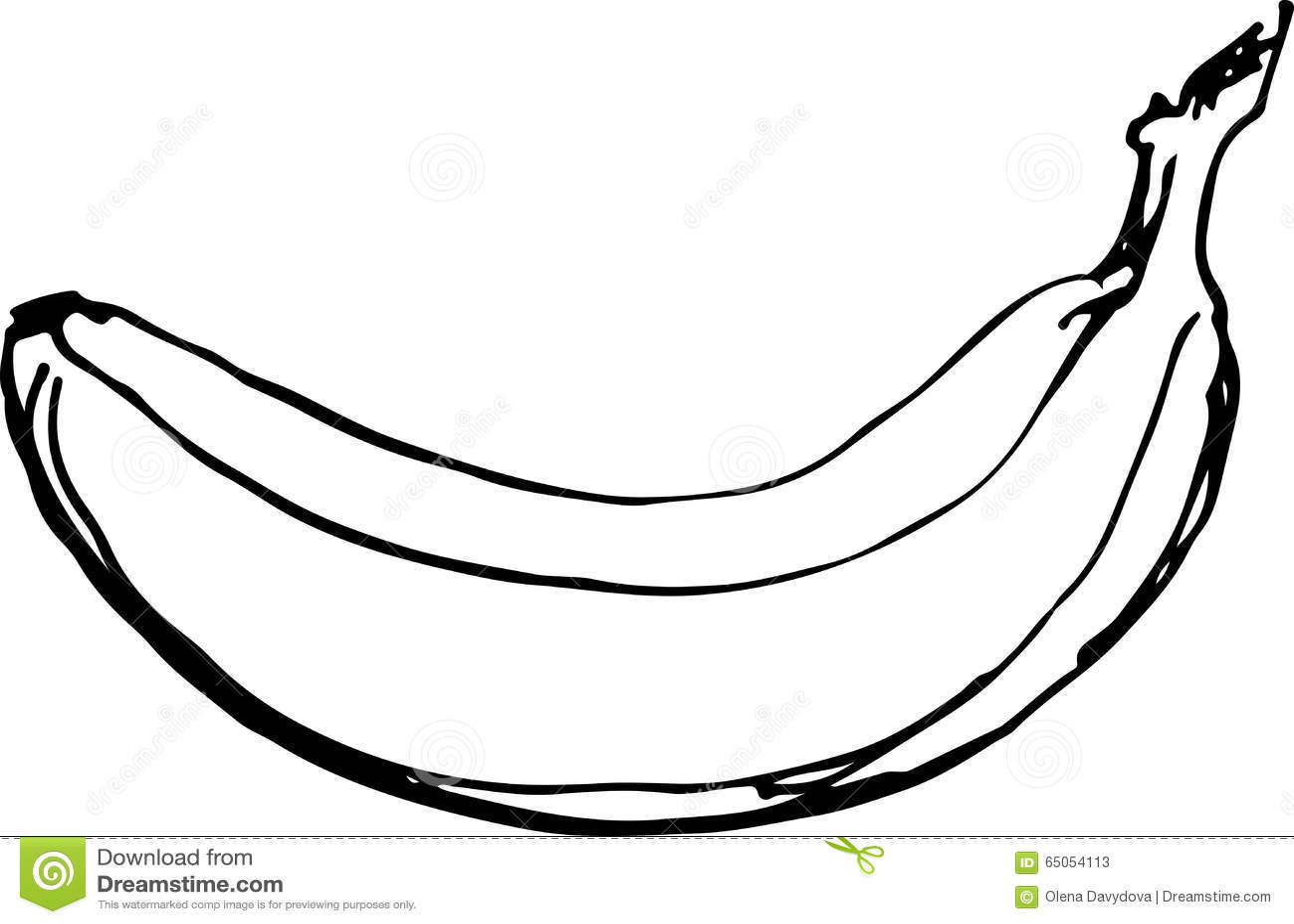 Banana Vector Illustration Stock Vector