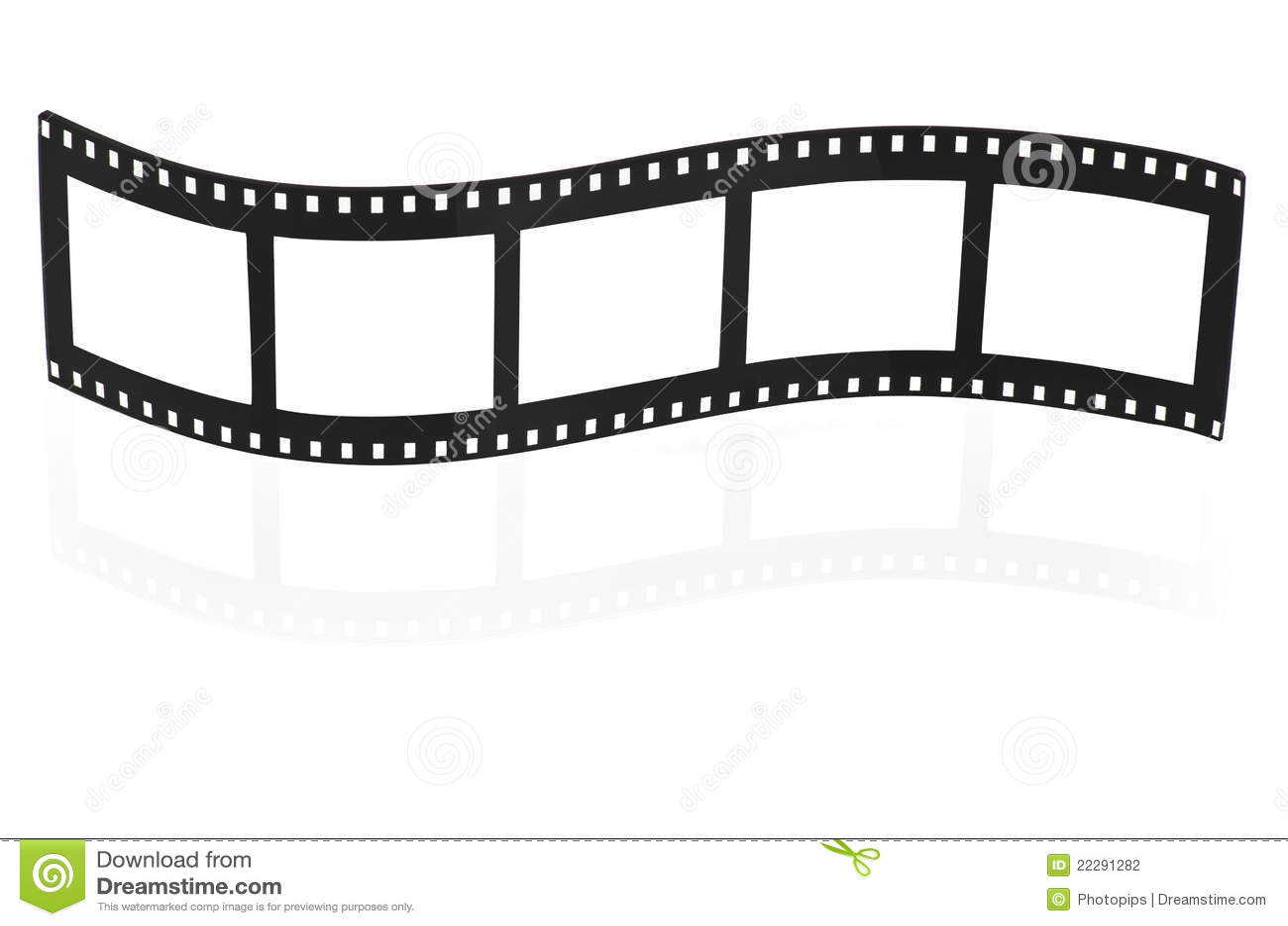 Bande Blanc De Film Photo Stock Image Du Ecran Appareil