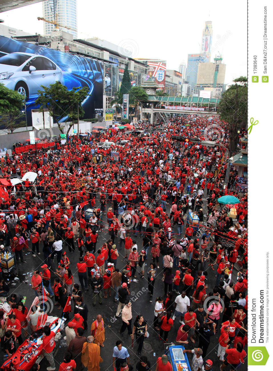 Gardibali Political Cartoon And Red Shirts