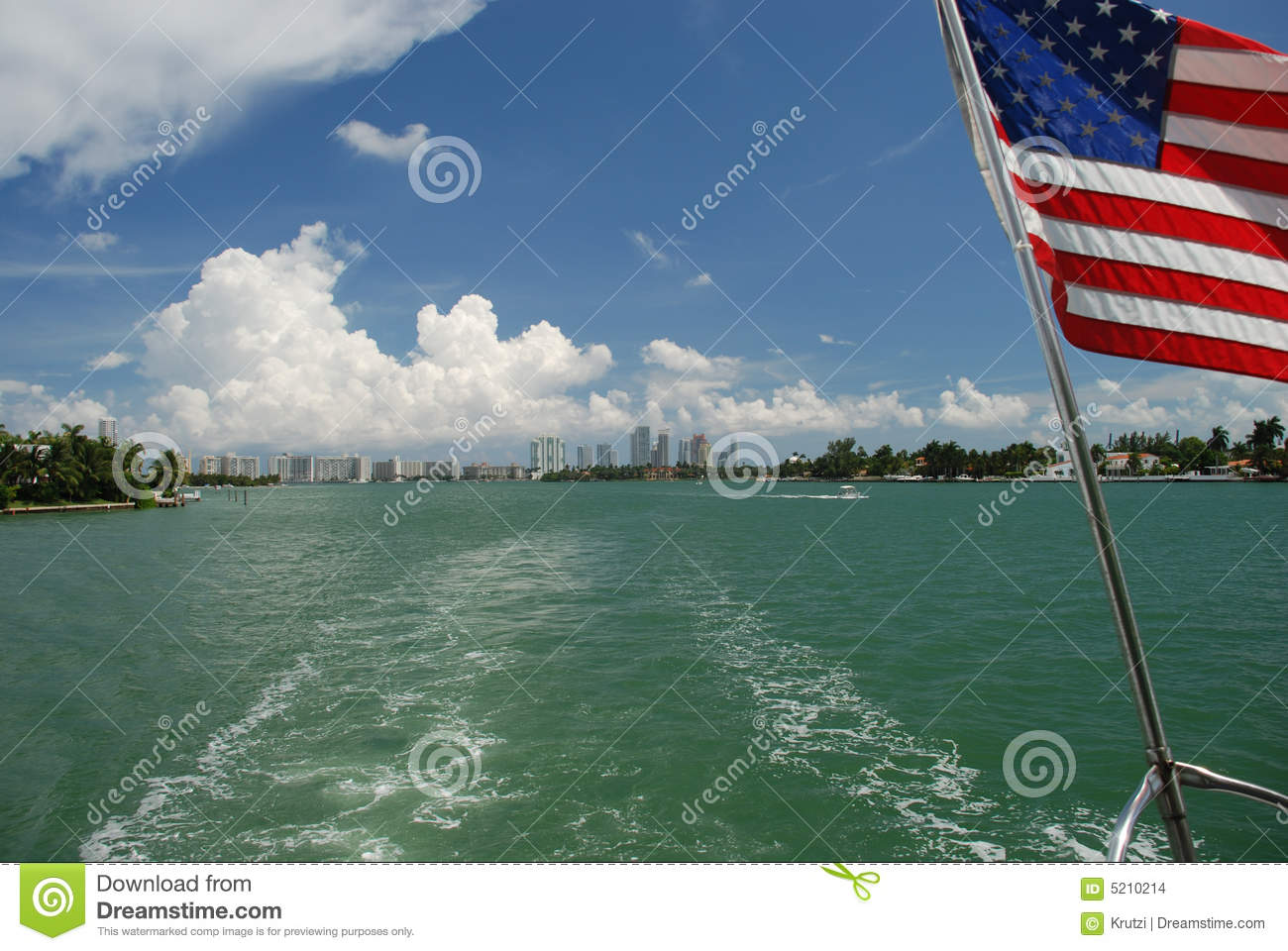 Banner In The Sky Stock Photo Image Of Life Palm Enjoy