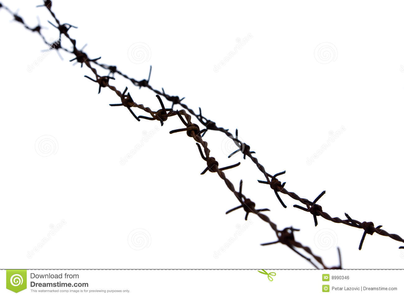 Barb Wire Stock Photo Image Of Jail Defend Barb