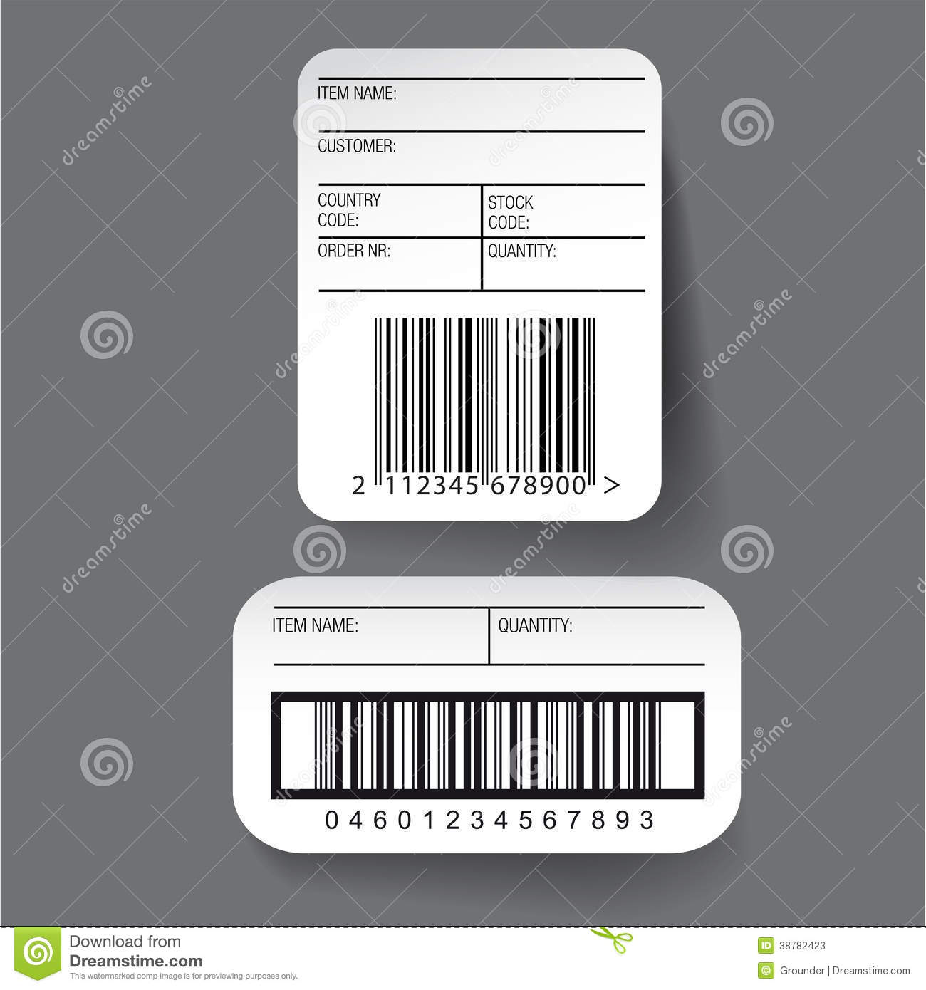 Inventory labels template images professional report for Z label templates