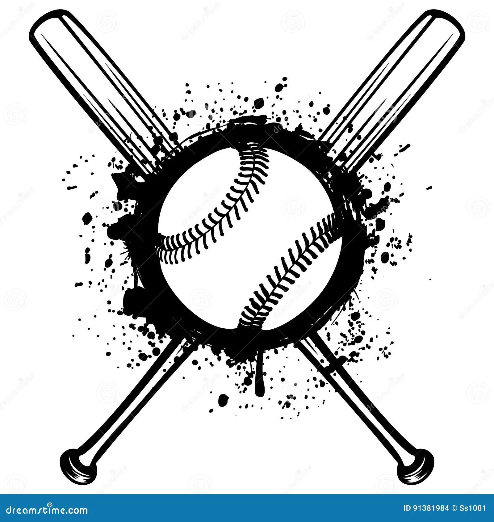 Baseball 2 Stock Vector Illustration Of Action Baseball