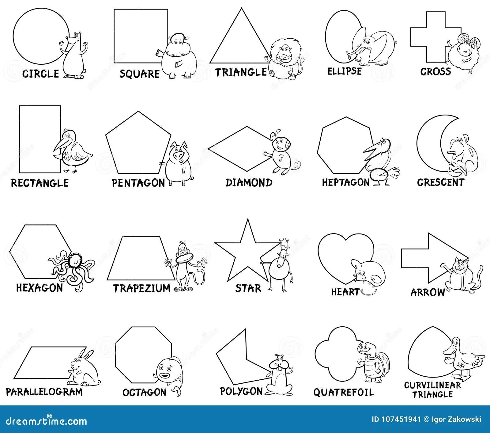 Curvilinear Triangle Worksheets Preschool Curvilinear