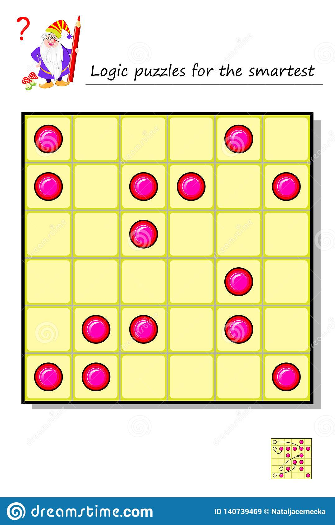 Logic Puzzle Game For The Smartest Move 4 Pieces So To