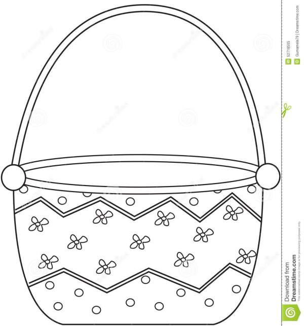 basket coloring page # 20