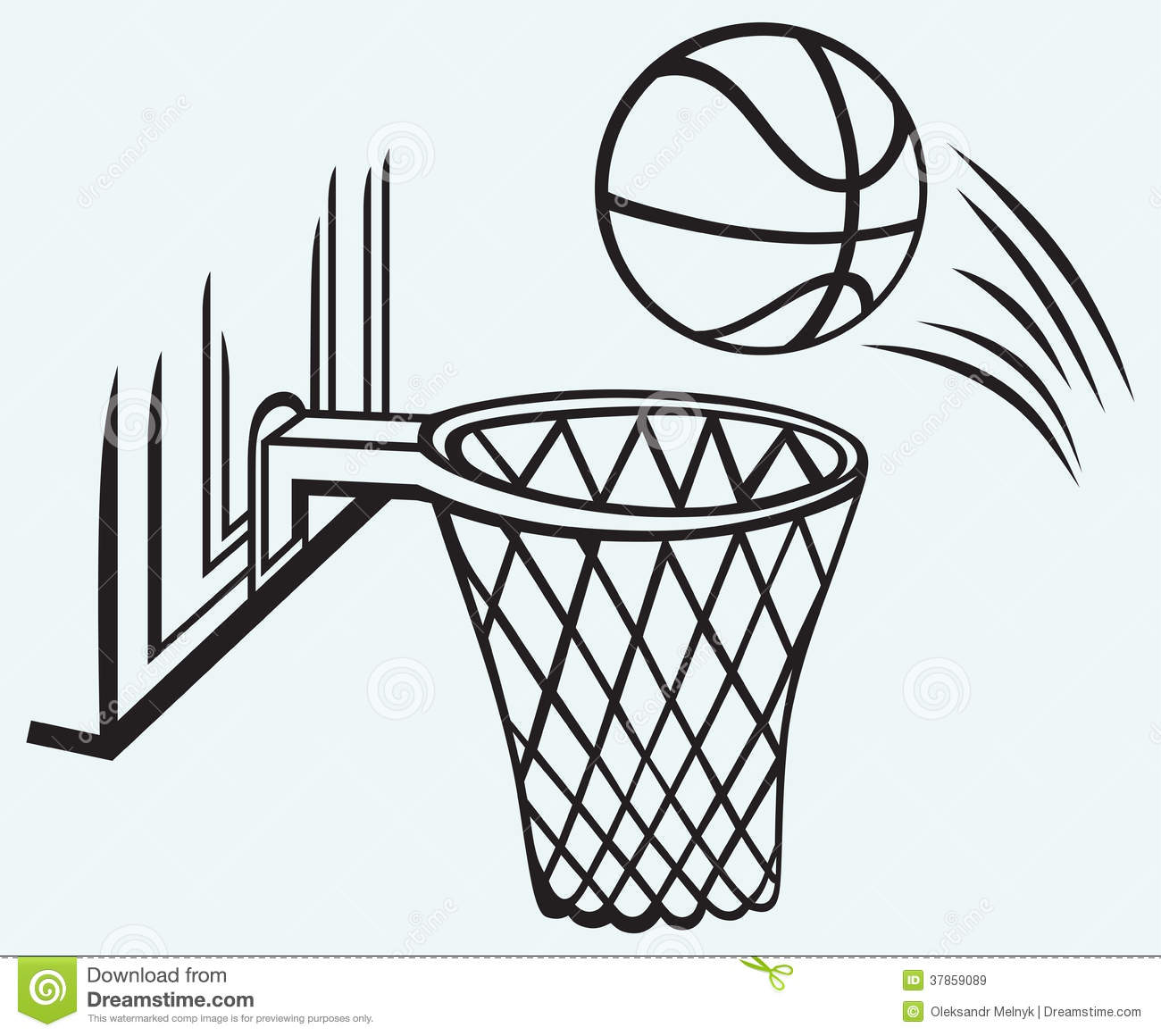 Basketball Board Royalty Free Stock Images