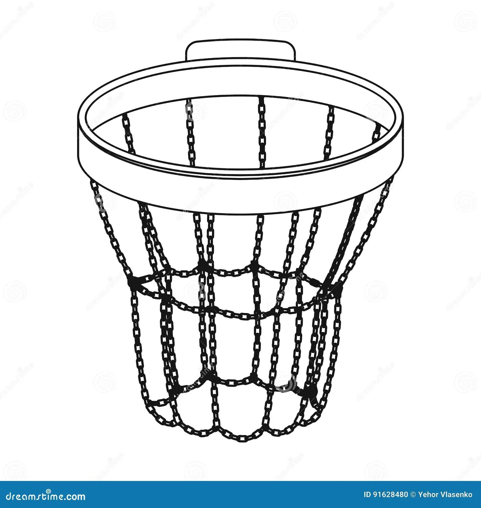 Basketball Hoop Vector Illustration Vector Illustration