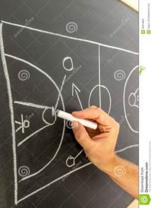 Basketball Strategy Stock Photography  Image: 33815862