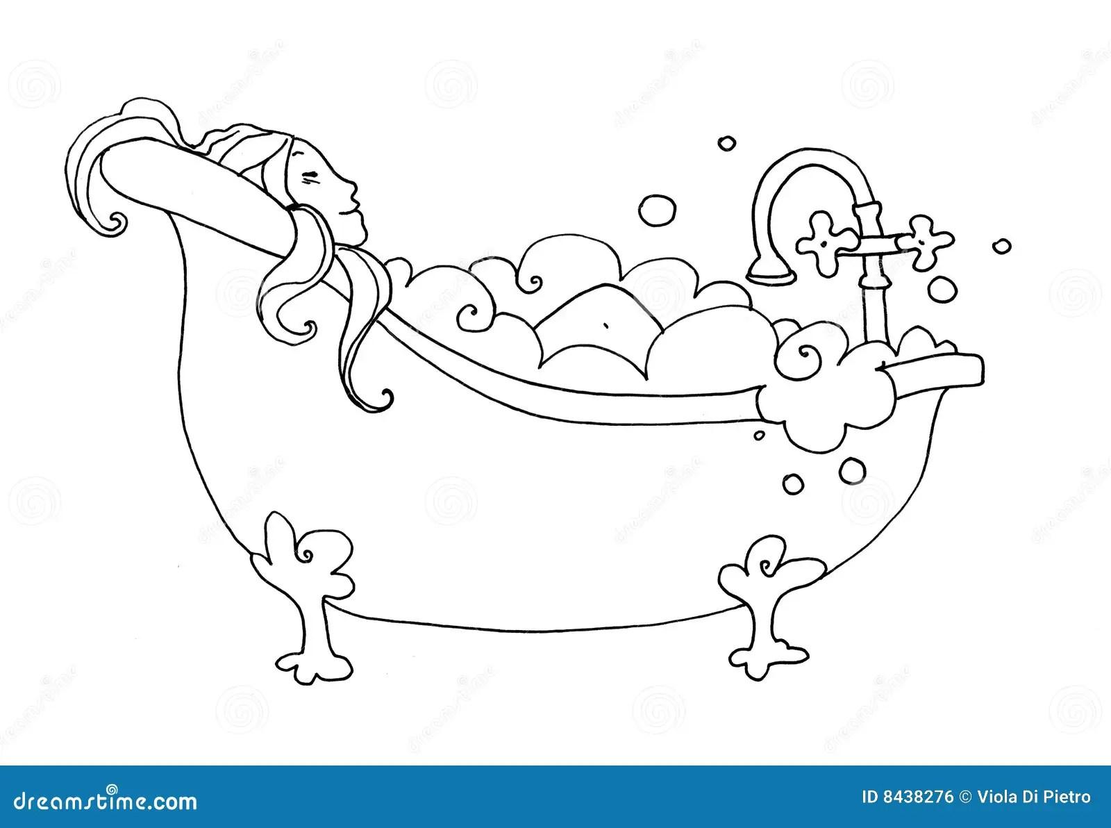 Bath Stock Illustration Illustration Of Luxury Time