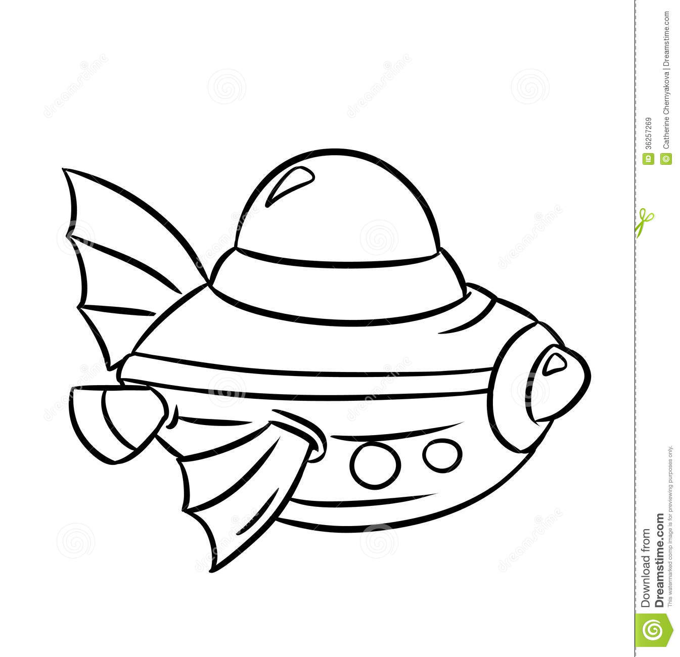 bathyscaphe coloring pages royalty free stock images image 36257269