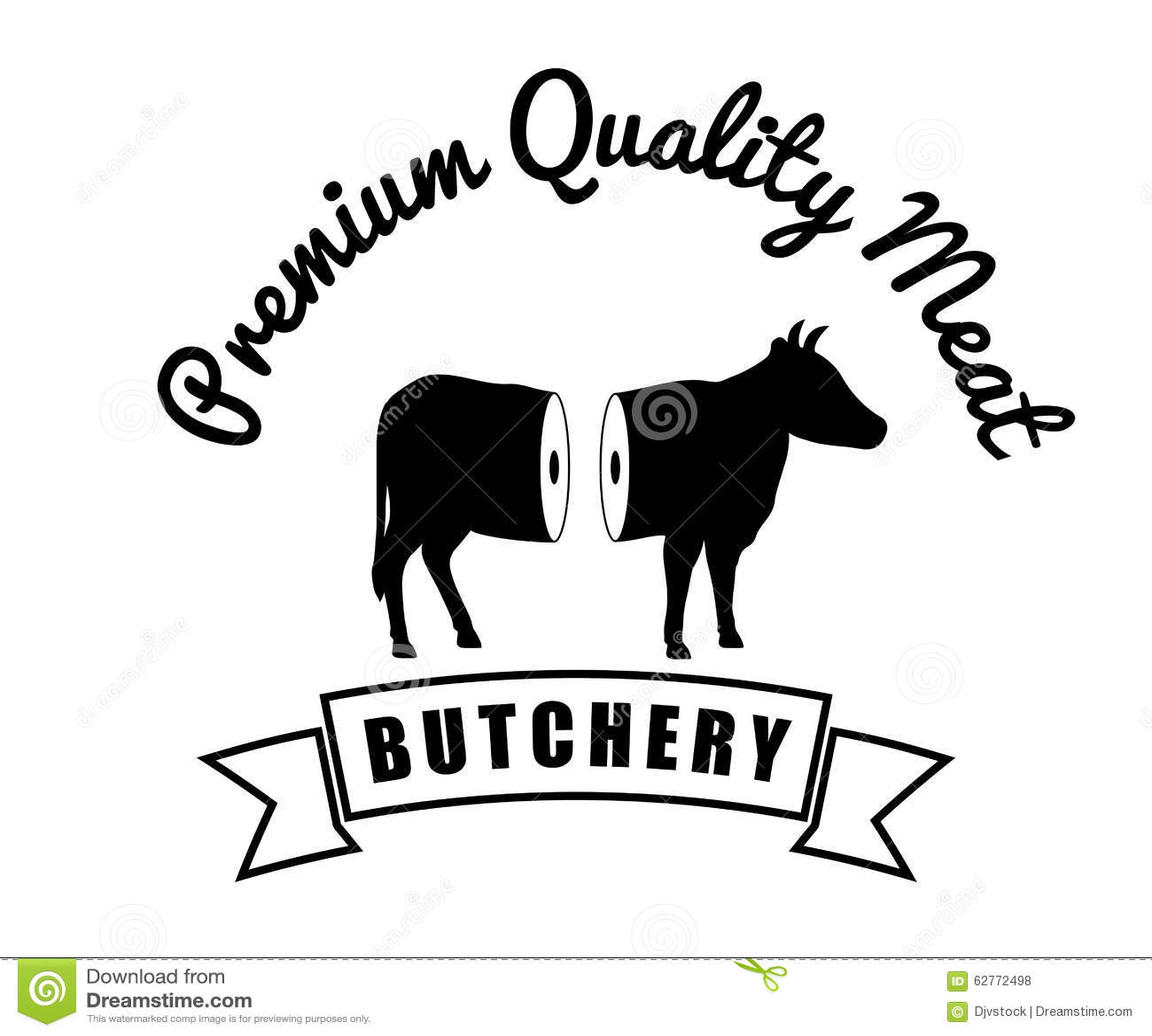 Bbq And Butchery Theme Vector Illustration