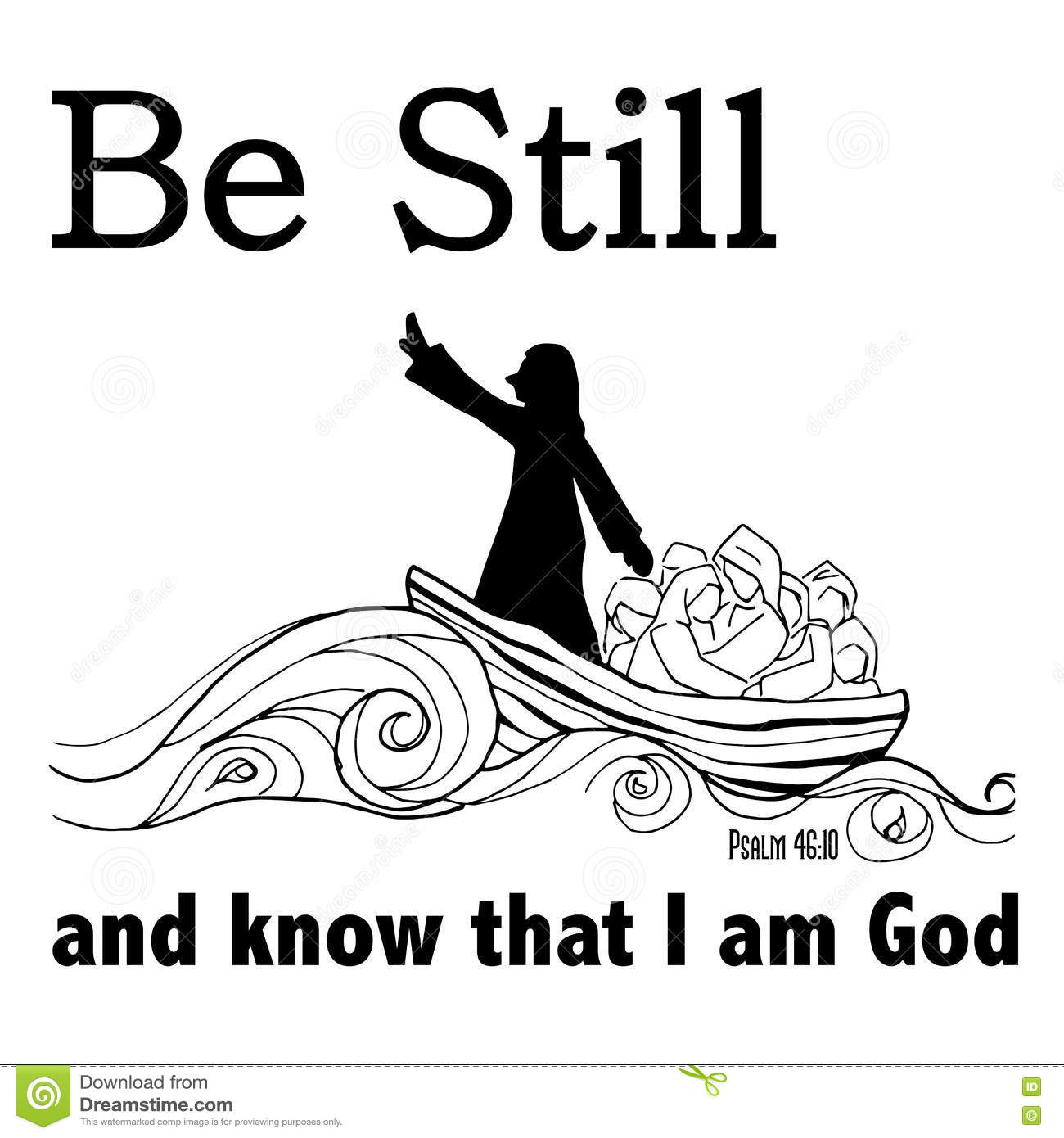 Be Still And Know That I Am God In Christianity Bible