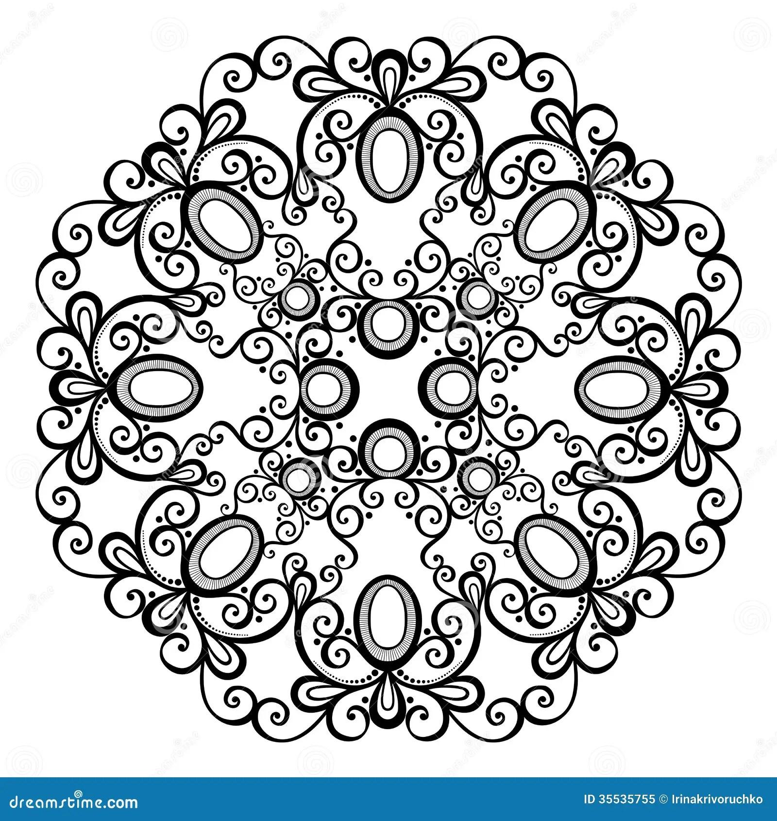 Beautiful Deco Mandala Vector Stock Vector