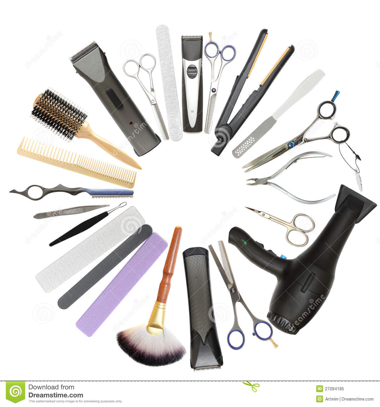 Beauty Salon And Barbershop Background Stock Image