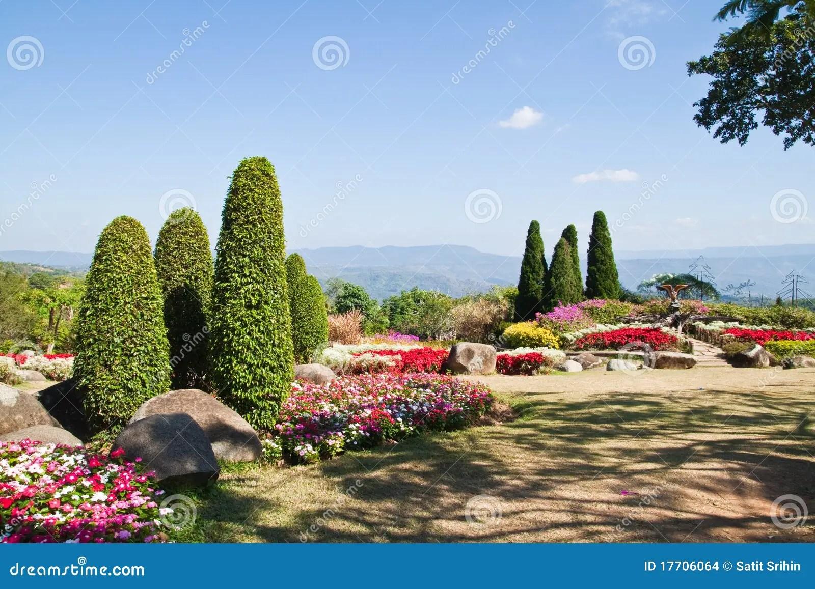 Blue Garden Stones