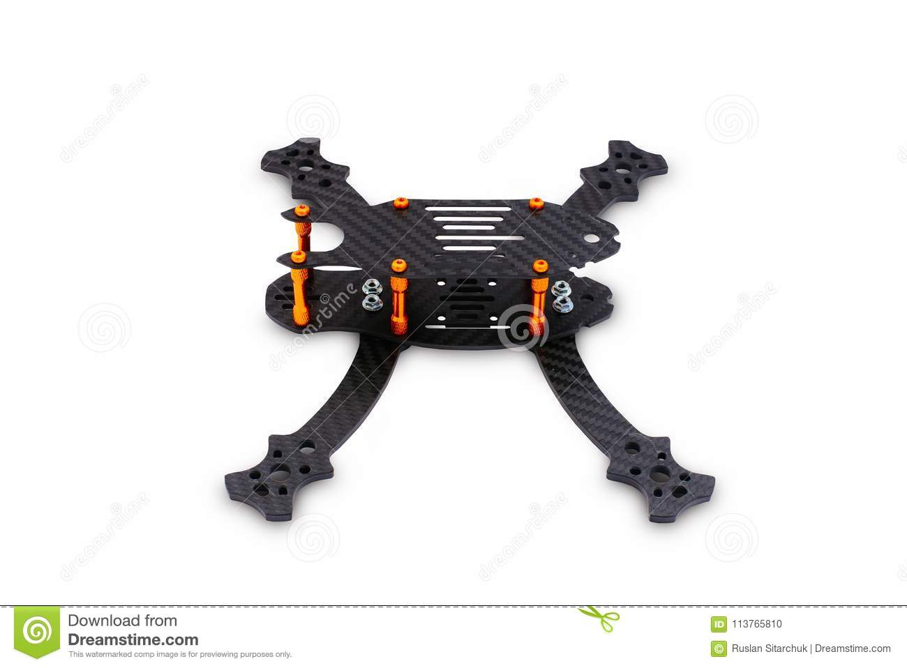 The Beginning Of The Racing Drone Assembly A Robust Frame