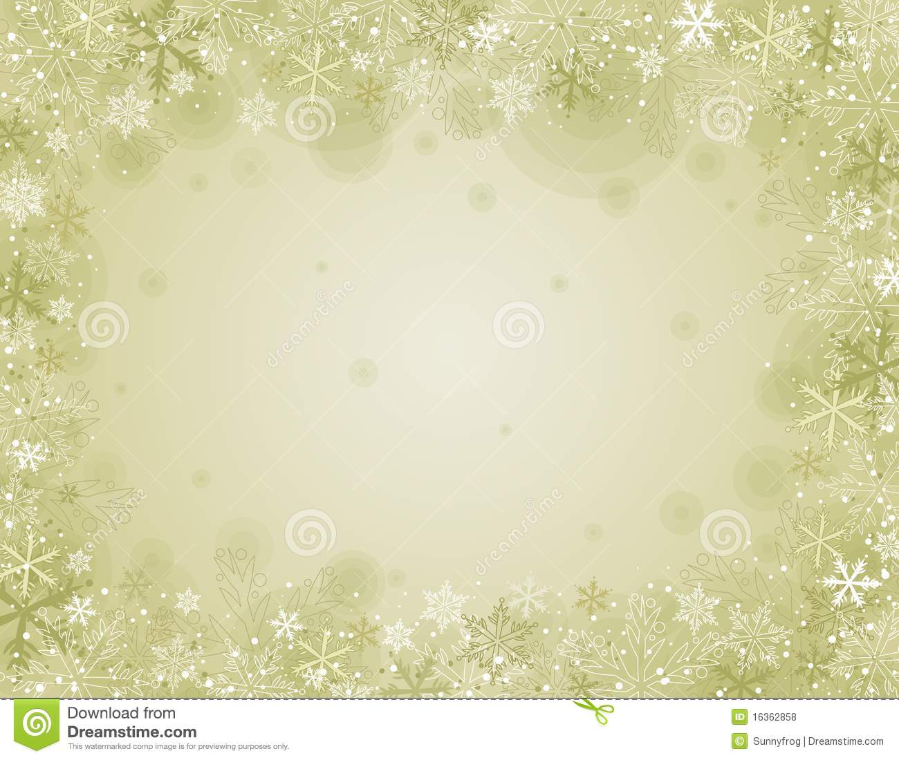 Beige Christmas Background Illustration Stock Vector
