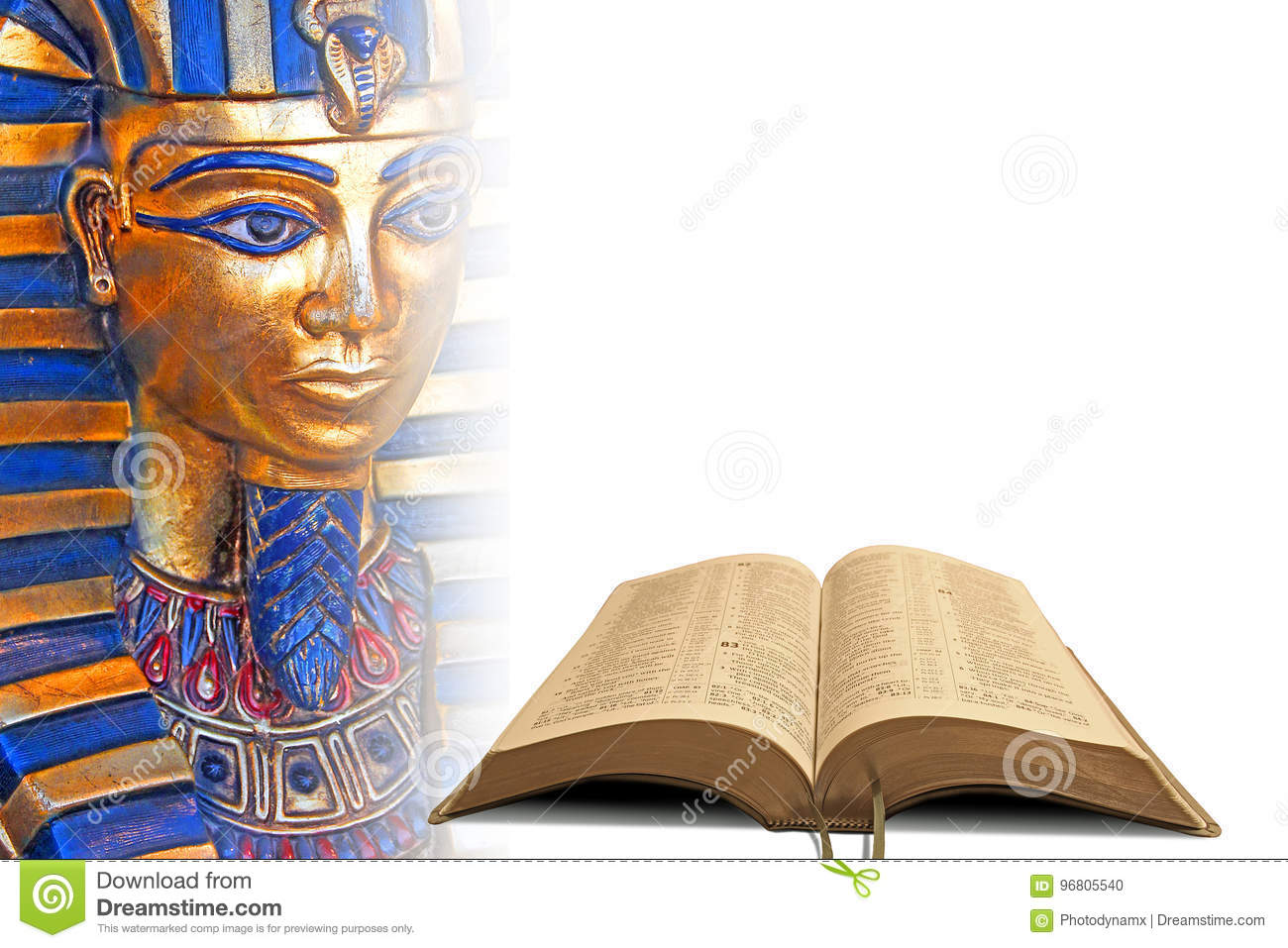 Bible Prophecy Egypt Stock Photo Image Of Kingship