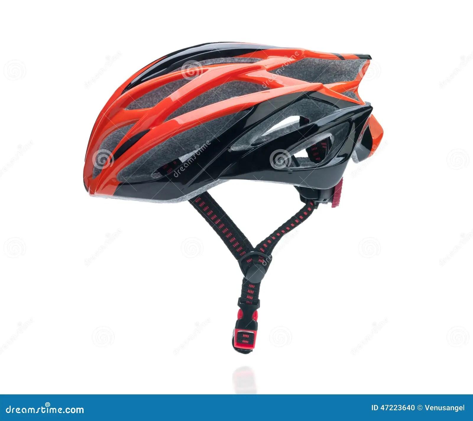 Bicycle Mountain Bike Safety Helmet Stock Photo