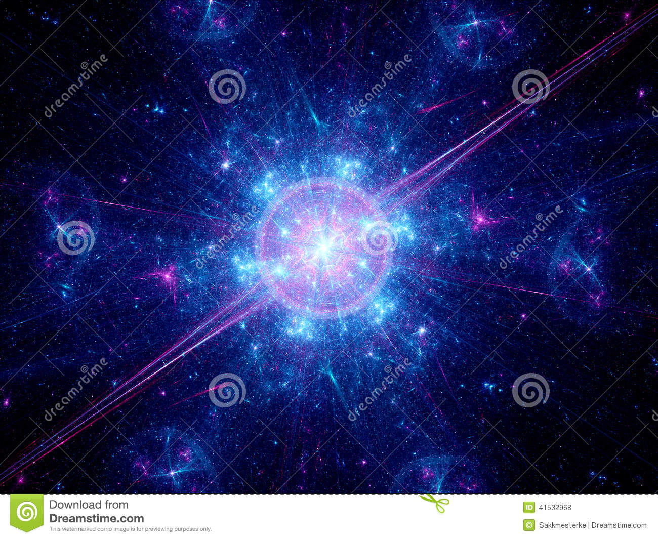 Big Bang In Space Stock Photo Image Of Background