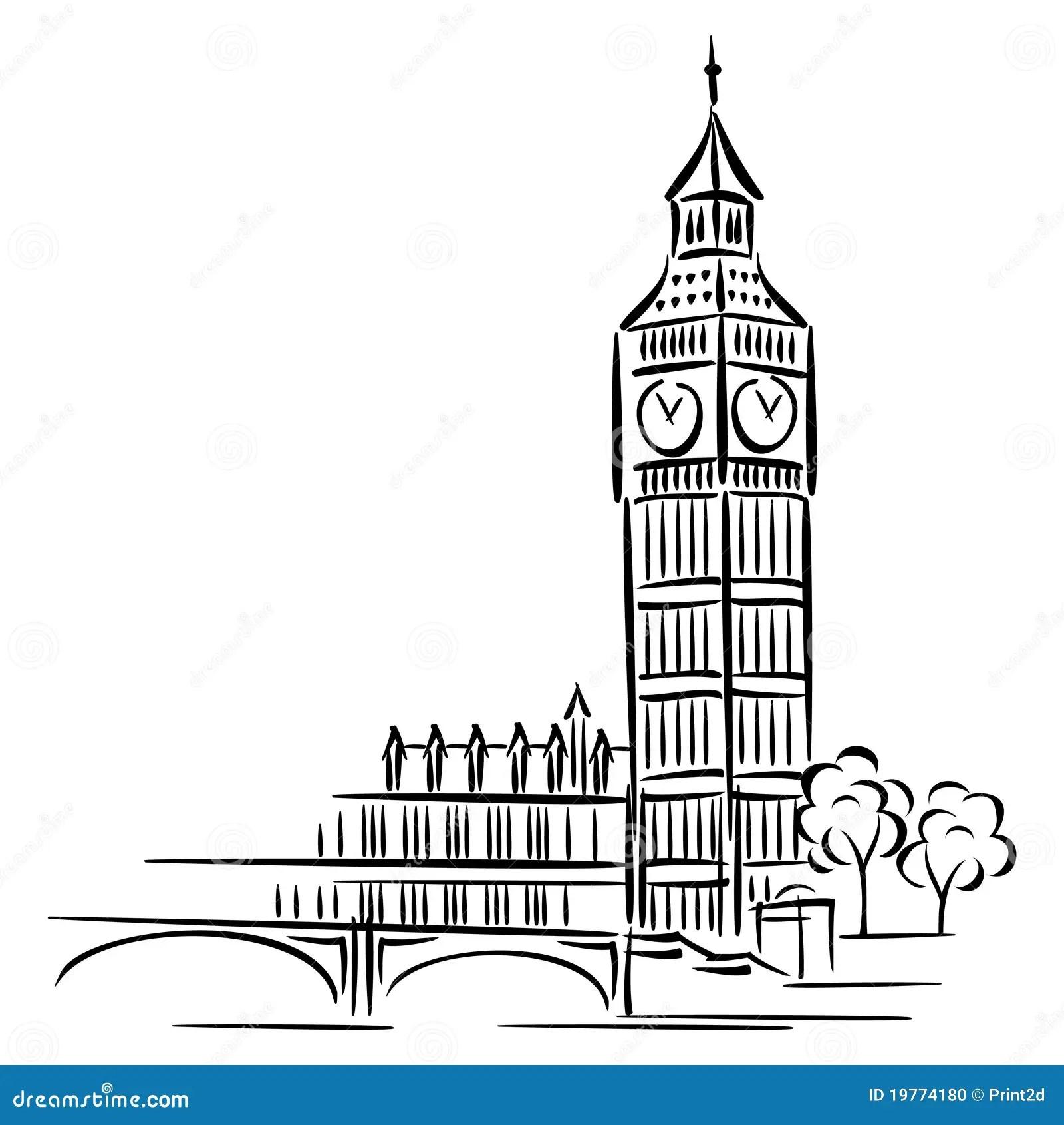 Big Ben Stock Vector Illustration Of Westminster