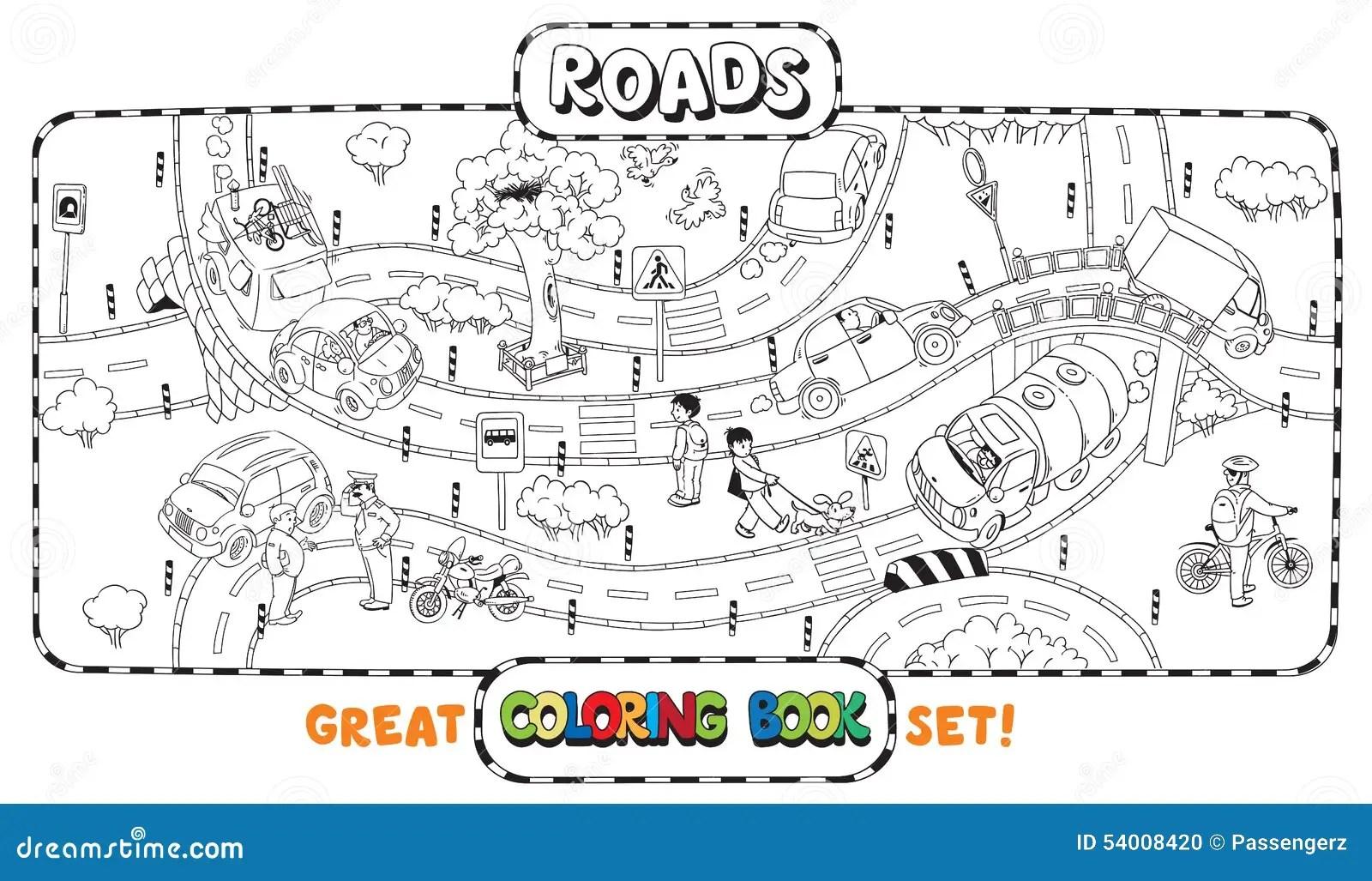 Road Map Worksheet Printable
