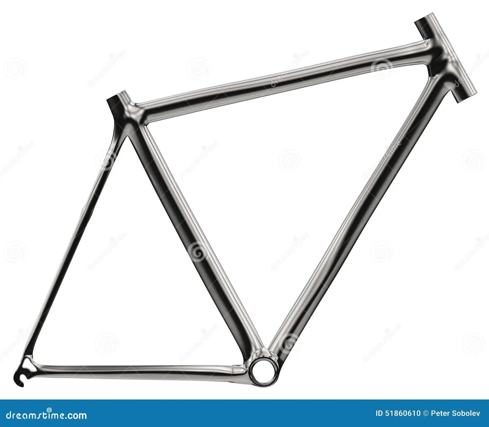 Bike Frame Stock Illustration Illustration Of Stainless