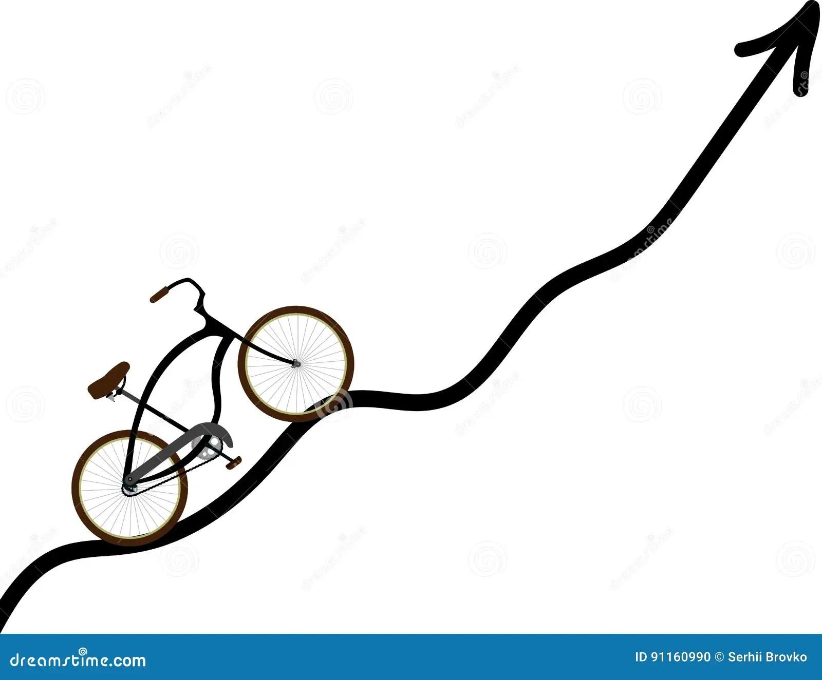 Race Track Curve Road Cartoon Vector