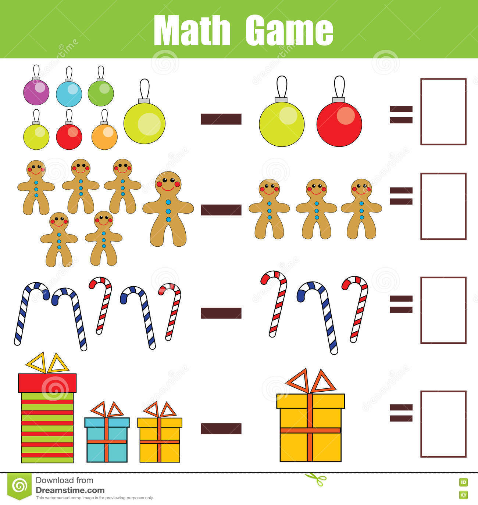 Bildande Lek For Matematik For Barn