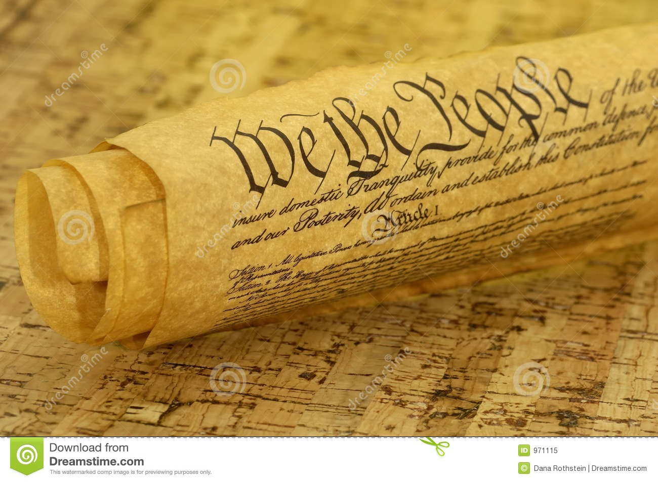 Bill Of Rights Stock Image Image Of Justice American