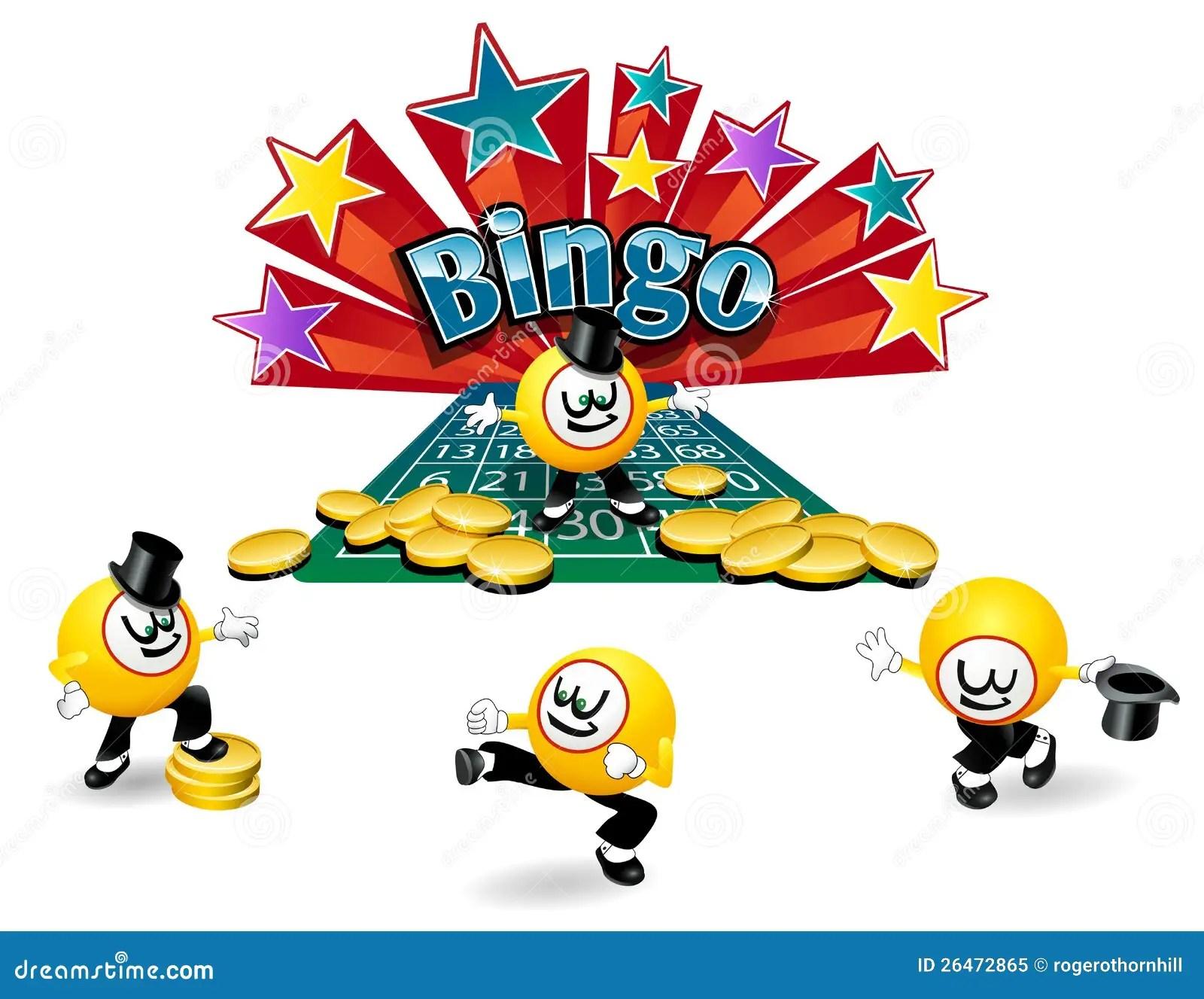 Bingo Ball Character Stock Vector Illustration Of Ball