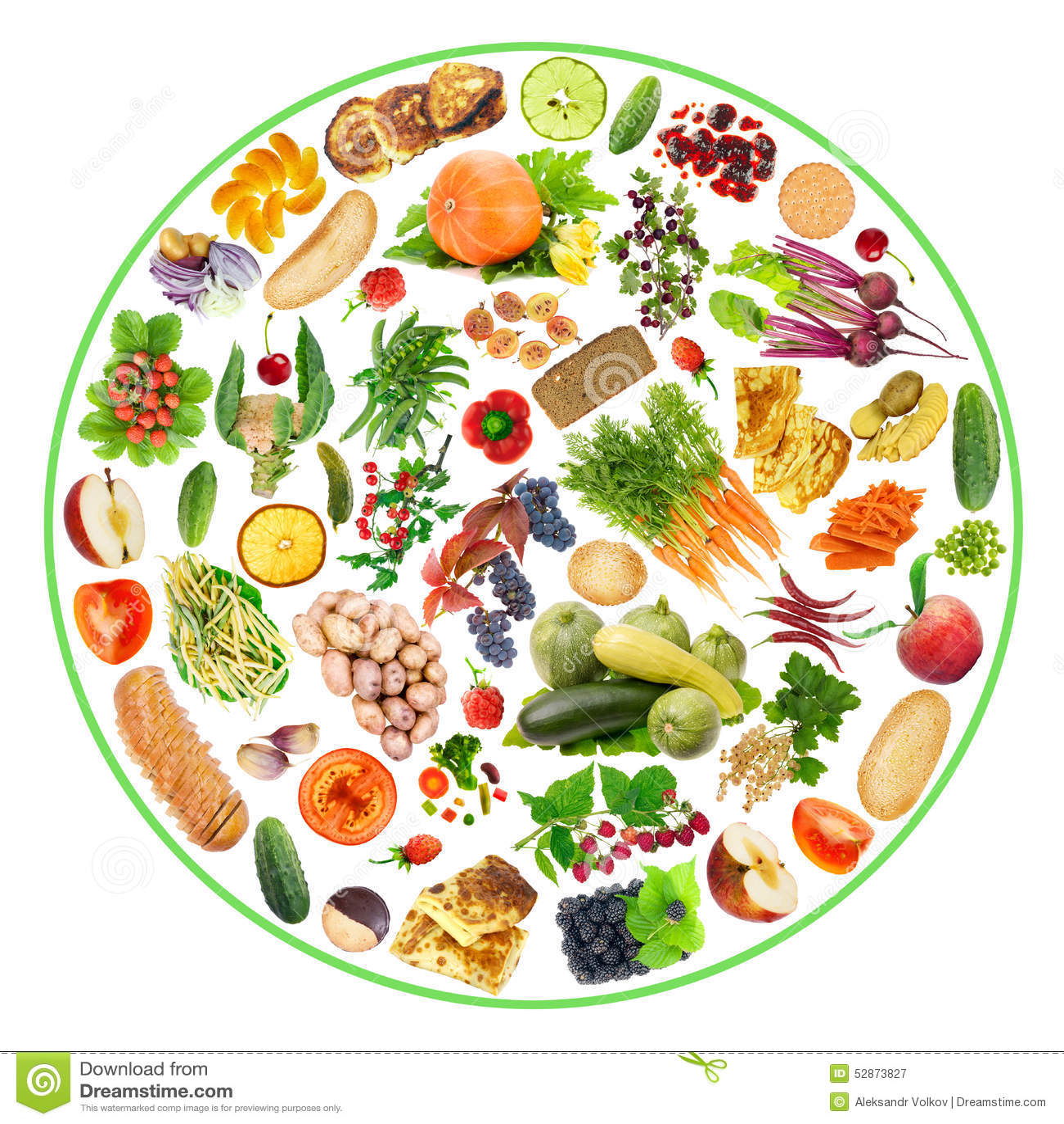 Bio Food On My Plate Stock Image Image Of Cookies