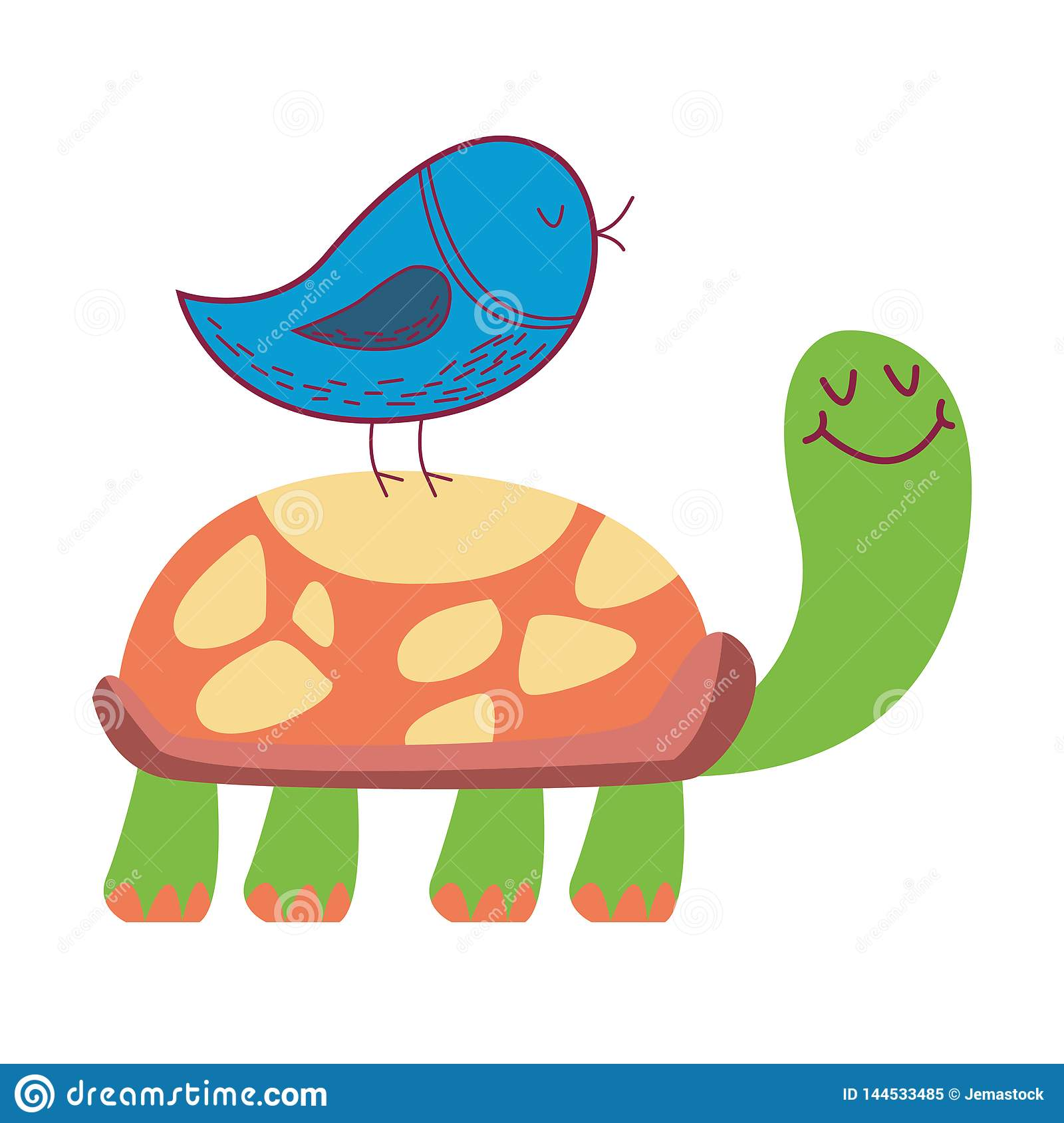 Easy Turtle Maze Cartoon Vector
